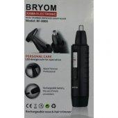 Bryom Rf 3003 Şarjlı 2 In1 Burun Kıl Makinası