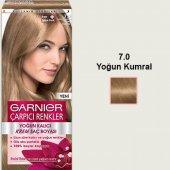 Garnier Naturel Çarpıcı Saç Boyası 7.0 Yoğun Kumral