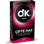 Okey Prezervatif 10lu Çifte Haz