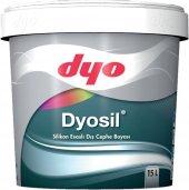 Dyo Dyosil Silikonlu Dış Cephe Boyası 15 Lt (Tüm Renkler)
