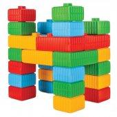 Tuğla Blok ve Araba Seti-3