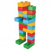 Tuğla Blok ve Araba Seti-9
