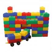 Tuğla Blok ve Araba Seti-10