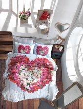 Cotton Box 3d Çift Kişilik Nevresim Takımı Garden Vizon