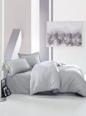 Cotton Box Çift Kişilik Saten Nevresim Takımı Elegant Gri