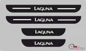 Renault Laguna Plastik Kapı Eşiği (4lü Set)