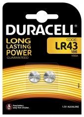 Duracell  Alkalin Düğme Pil LR43 1,5 Volt 10 Adet-2