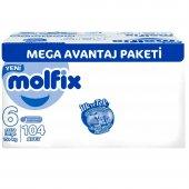 Molfix 6 Beden Extra Large 15 + Kg 104 Adet