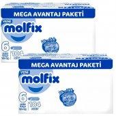 Molfix 6 Beden Extra Large 15 + Kg 104 Adet 2 Set