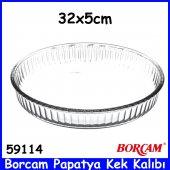 Borcam 59114 Papatya Kek Kalıbı 32x5 Ebatlarında Paşabahçe Kalite-2