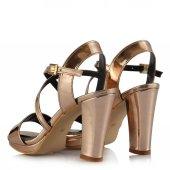Topuklu Ayakkabı Çapraz Bakır Ayna-3