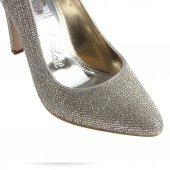Gelin Ayakkabısı Stiletto  Taşlı-3
