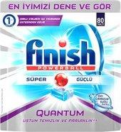 Finish Quantum Çamaşır Suyu Etkili 80li Tablet
