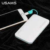 USAMS 5000mAh Taşınabilir Powerbank Şarj Cihazı US-CD04-2