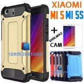 Xiaomi Mi 5 Mi 5s Zırh Kılıf Rubber Tpu Kılıf +kırılmaz Cam