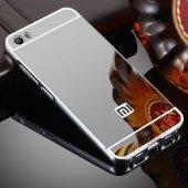 Xiaomi Mi 5 Prime Kılıf Metal Aynalı Kılıf + Mi5 Prime Kırılmaz-4