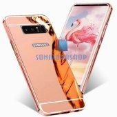 Samsung Galaxy Note 8 Kılıf Metal Aynalı Kılıf-5