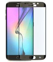 Galaxy S6 Edge Kırılmaz S6 Edge Plus Tam Ekran Cam Oval Kavisli-2