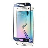 Galaxy S6 Edge Kırılmaz S6 Edge Plus Tam Ekran Cam Oval Kavisli-5
