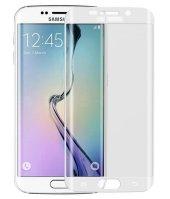 Galaxy S6 Edge Kırılmaz S6 Edge Plus Tam Ekran Cam Oval Kavisli-7