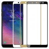 Samsung Galaxy A6 A6 Plus 2018 Kırılmaz 3d Tam Ekran Cam Koruyucu