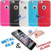 iPhone 6 6S iPhone 6 6S Plus Orjinal Motomo Metal Kılıf+Kırılmaz