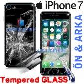 iPhone 7 7 Plus iPhone 6 6S Plus Kırılmaz Ön+Arka Cam Ekran-2