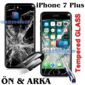 iPhone 7 7 Plus iPhone 6 6S Plus Kırılmaz Ön+Arka Cam Ekran-3