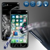 iPhone 7 7 Plus iPhone 6 6S Plus Kırılmaz Ön+Arka Cam Ekran-6
