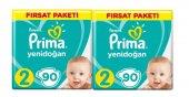 Prima Fırsat Paketi Bebek Bezi 2 90 Adet*2li Set