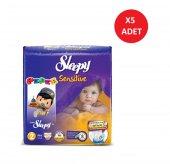 Sleepy Bebek Bezi Mini 42 Adet *5li Set