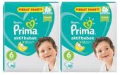 Prima Fırsat Paketi Bebek Bezi 6 40 Adet *2li...
