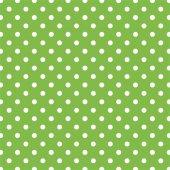 Yeşil Zemin Üzerine Beyaz Puanlı Keçe Plaka (Dk P7)