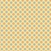 Sarı Zemin Üzerine Sarı Mavi Puanlı Keçe Plaka (Dk P12)