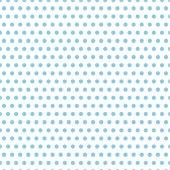 Beyaz Zemin Üzerine Küçük Mavi Puanlı Keçe Plaka (Dk P16)