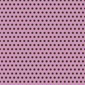 Pembe Zemin Üzerine Küçük Kahverengi Puanlı Keçe Plaka (Dk P18)