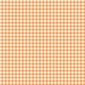 Turuncu Beyaz Pötikare Keçe Plaka (Dk P27)