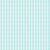 Beyaz Zemin Üzerine Mavi Fil Desenli Keçe Plaka (Dk P51)