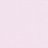 Beyaz Zemin Üzerine Pembe Kalp Desenli Keçe Plaka (Dk P62)