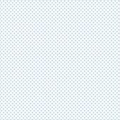 Beyaz Zemin Üzerine Mavi Kalp Desenli Keçe Plaka (Dk P63)