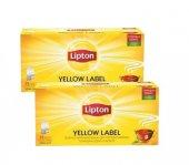 Lipton Yellow Bardak Çay 25 Adet*2li Set