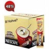 Nescafe 3in1 Sütlü Köpüklü 18 Gr*48 Adet