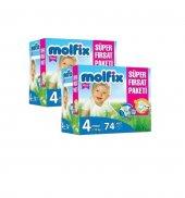 Molfix Süper Fırsat Paketi 4 74 Adet *2li Set