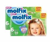 Molfix Süper Fırsat Paketi 6 50 Adet *2li Set