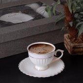 Gönül Collection 2li Kahve Fincan Seti Şık Tasarım ve Özel Sakla