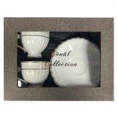 Gönül Collection 2li Kahve Fincan Seti Şık Tasarım ve Özel Sakla-2