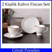 Gönül Collection 2li Kahve Fincan Seti Şık Tasarım ve Özel Sakla-3
