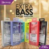 Elmcoei Extra Bass Mikrofonlu Kulaklık-5