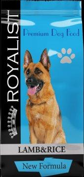 Royalist Kuzu Etli Pirinçli Yetişkin Köpek Mama 15