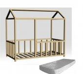 Montessori Yataklar, 1. Sınıf 100 Doğal Çam, İç Yatak Dahil
